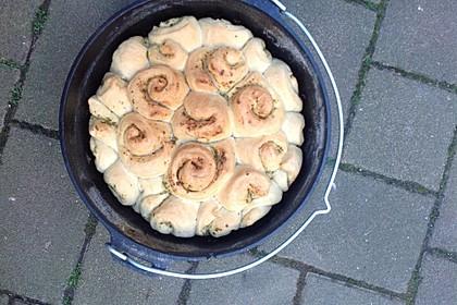 Kräuter-Zupfbrot in der Springform 40
