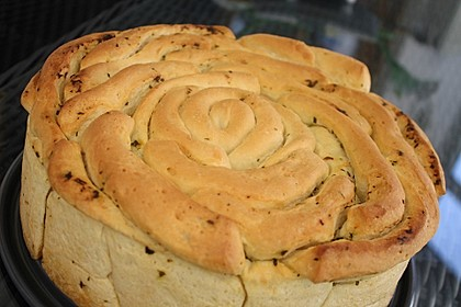 Kräuter-Zupfbrot in der Springform 30
