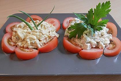 Nicis Fleisch-Eier-Wurst Currysalat