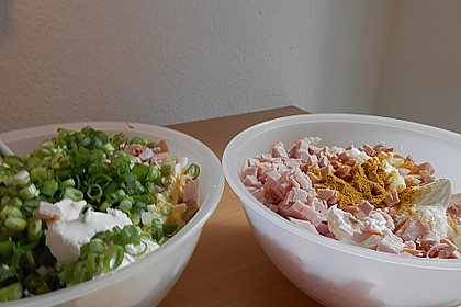 Nicis Fleisch-Eier-Wurst Currysalat 2