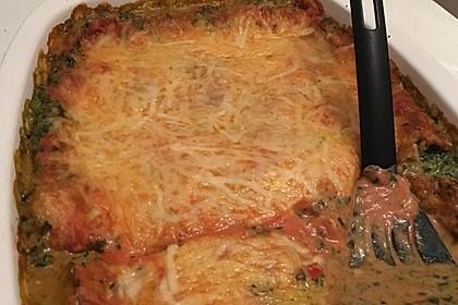 Vegetarische Spinat-Gemüse-Lasagne mit Tomatensoße 28