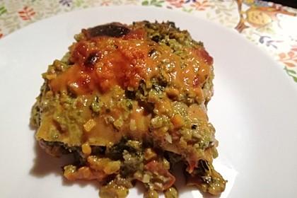 Vegetarische Spinat-Gemüse-Lasagne mit Tomatensoße 24