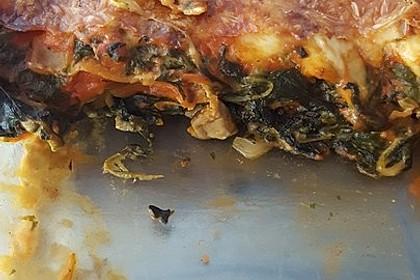 Vegetarische Spinat-Gemüse-Lasagne mit Tomatensoße 27