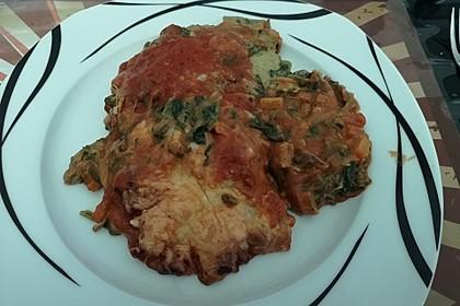 Vegetarische Spinat-Gemüse-Lasagne mit Tomatensoße 25