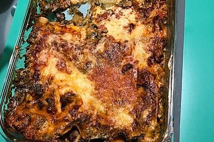 Vegetarische Spinat-Gemüse-Lasagne mit Tomatensoße 31