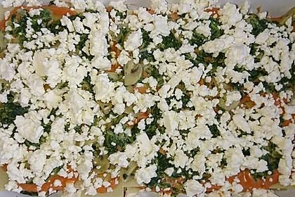 Vegetarische Spinat-Gemüse-Lasagne mit Tomatensoße 12