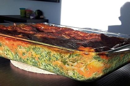 Vegetarische Spinat-Gemüse-Lasagne mit Tomatensoße 22