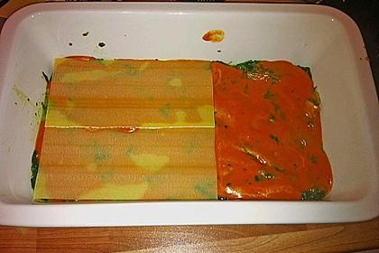 Vegetarische Spinat-Gemüse-Lasagne mit Tomatensoße 23