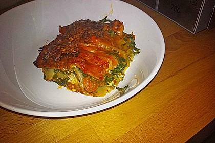 Vegetarische Spinat-Gemüse-Lasagne mit Tomatensoße 18