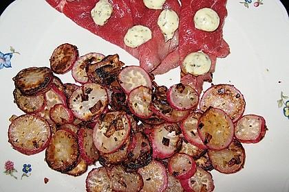 Radieschen nach Bratkartoffelart (Bild)