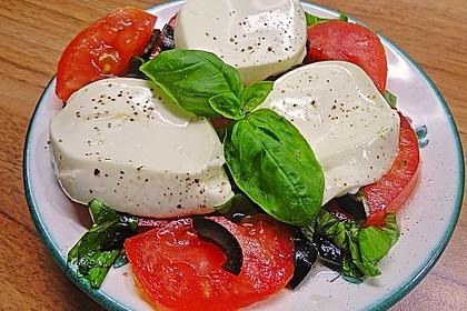 Tomaten-Carpaccio mit gebackenem Ziegenkäse 4