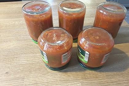 Tomaten-Paprika-Letscho (Bild)