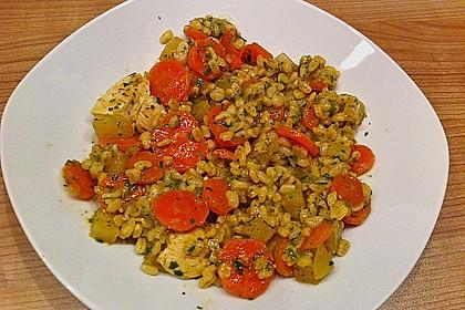 Gemüse-Hähnchen-Pfanne mit Ebly 1