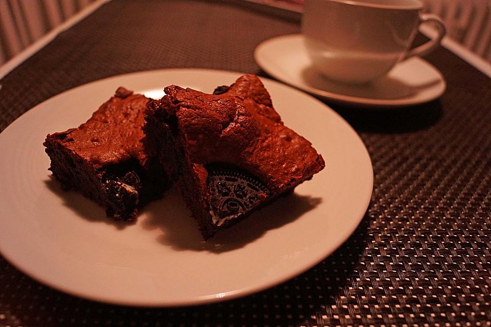 Oreo Brownie Kuchen Von Brathaehnchendeluxe Chefkoch De