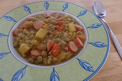 Erbsen-Gemüse-Eintopf nach Fiefhusener Art 1