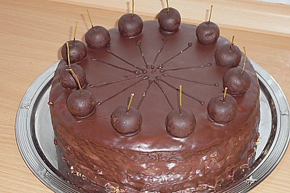 Apfel-Schokoladen-Torte mit Calvados 1