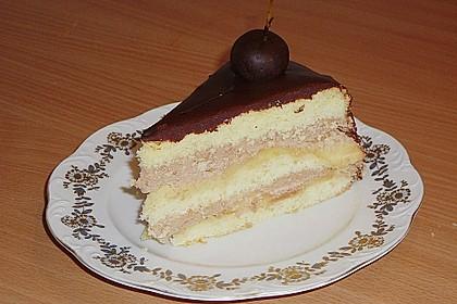 Apfel-Schokoladen-Torte mit Calvados