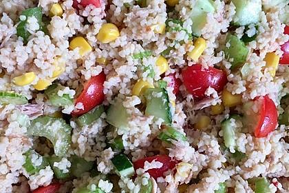 Couscous-Salat mit Thunfisch (Bild)