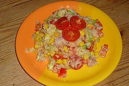Couscous-Salat mit Thunfisch