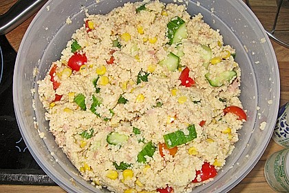 Couscous-Salat mit Thunfisch 1