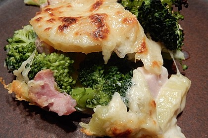 Kartoffel-Brokkoli-Kasseler Auflauf 3