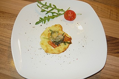 Sündhaft leckere Parmesantaler (Bild)