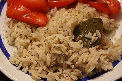 Reis auf peruanische Art
