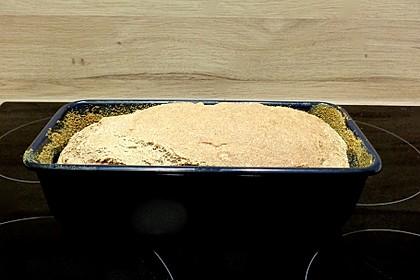 Dinkel-Weizen-Buttermilch Brot ohne Sauerteig (Bild)