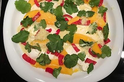 Mango mit Mozzarella 6