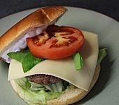 Original amerikanische Hamburger (Bild)