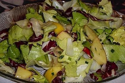 Apfel-Endivien-Salat mit Senfdressing 9