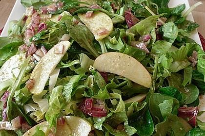 Apfel-Endivien-Salat mit Senfdressing 3