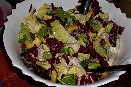 Apfel-Endivien-Salat mit Senfdressing 6