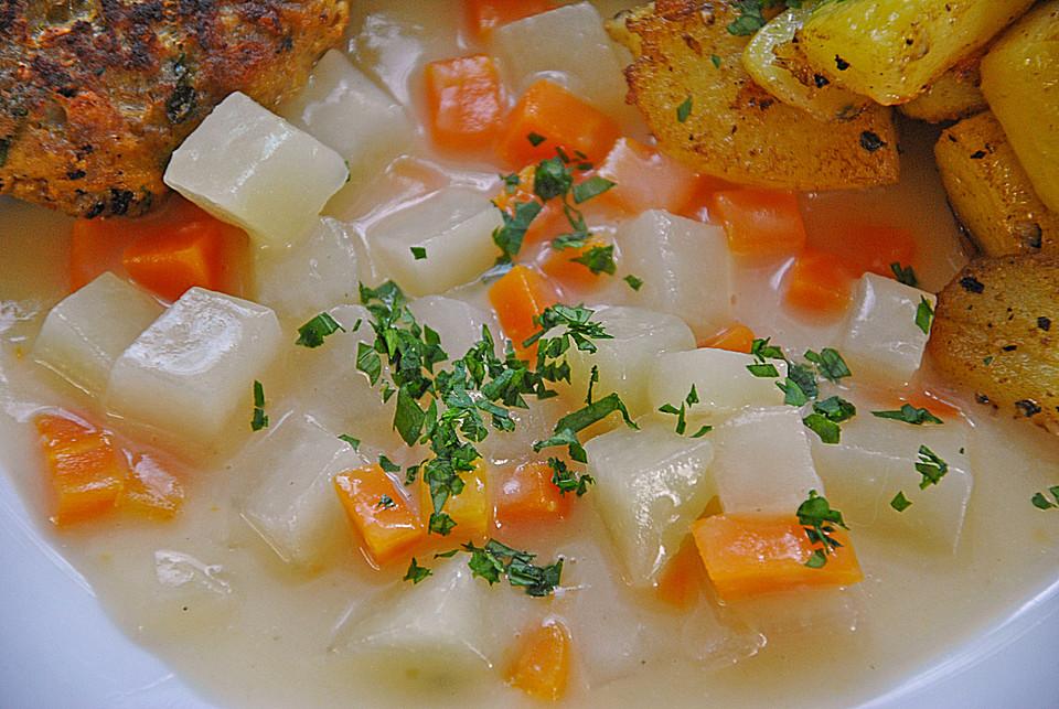 Möhren Kohlrabi Sahne Gemüse Von Laryhla Chefkoch