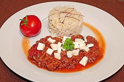 Sommergerichte Zucchini : Zucchini hackfleischpfanne mit feta von viniferia chefkoch.de
