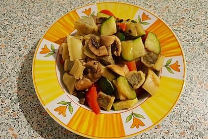 Maultaschen-Gemüsepfanne 5