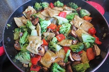 Maultaschen-Gemüsepfanne 3