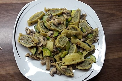 Maultaschen-Gemüsepfanne 4