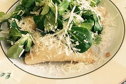 Ravioli, gefüllt mit Ricotta und Ziegenfrischkäse 9