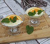 Joghurt-Öl-Nussmus-Ahornsirup Dessert (Bild)