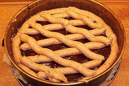Linzer-Torte mit Kokosraspel 2