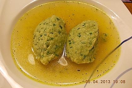 Bärlauch-Grießnockerl 10