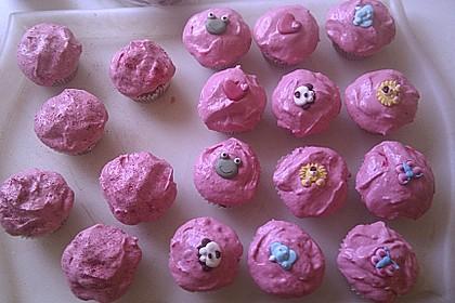 Erdbeer-Cupcakes mit Erdbeer-Mascarpone Frosting 19