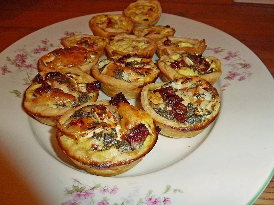 Fingerfood Quiches In 2 Variationen Von Monikakao Chefkoch