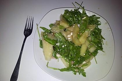 Erfrischender Sommersalat mit Wassermelone und Rucola 15