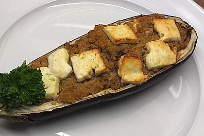 Auberginen gefüllt mit orientalischem Couscous 6