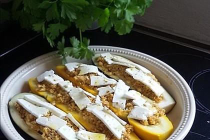 Auberginen gefüllt mit orientalischem Couscous 11