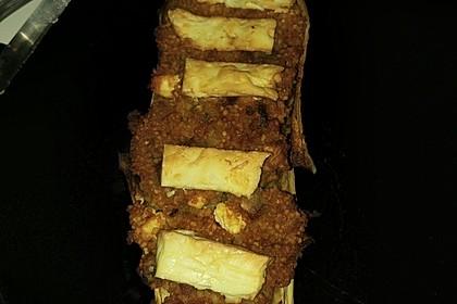 Auberginen gefüllt mit orientalischem Couscous 12