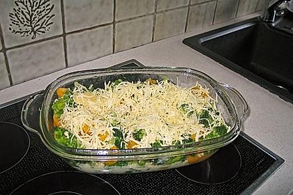 Brokkoli-Pfirsich-Hähnchenbrustfilet überbacken 1