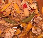 Asia-Pfanne süß-sauer (Bild)
